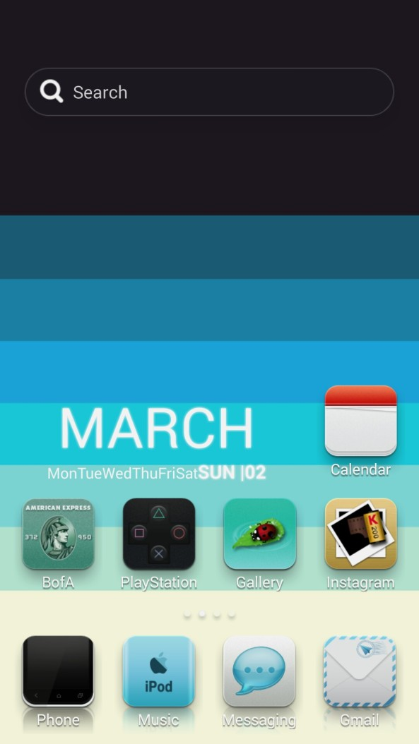 Home screen 2