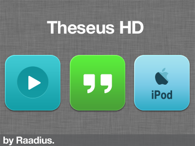 Theseus HD Flat Preview